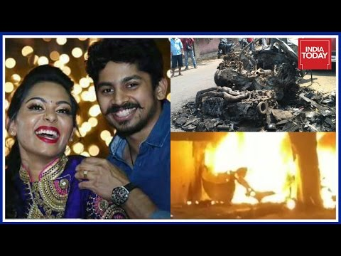 Racer Ashwin And Wife Charred To Death After Their BMW Crashes