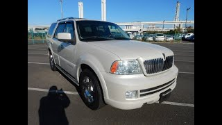 Find your new Lincoln Navigator in Japan. We have many good quality clean Left Hand drive Lincolns.