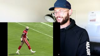 Rugby Player Reacts to JERRY RICE - The G.O.A.T NFL YouTube Video!