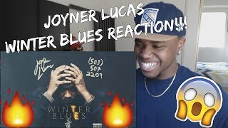 Joyner Lucas   Winter Blues (508) 507 2209 REACTION!