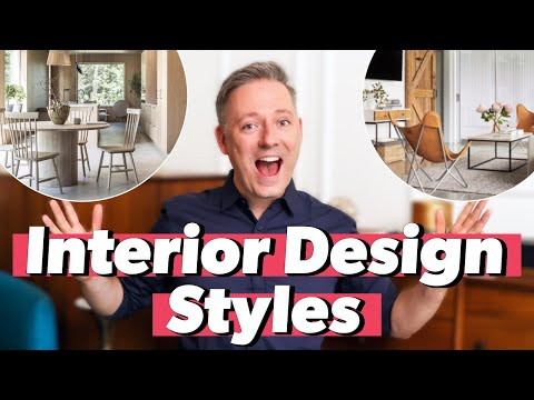 Most Popular INTERIOR DESIGN STYLES EXPLAINED | How To Find Your Decorating Style in 2020!
