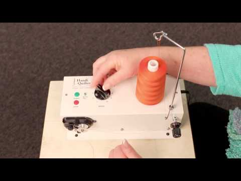 How to Use the HQ Bobbin Winder