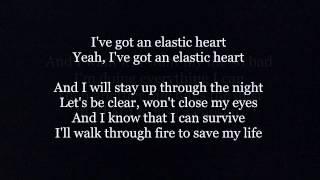 Sia - Elastic Heart (Official lyrics)