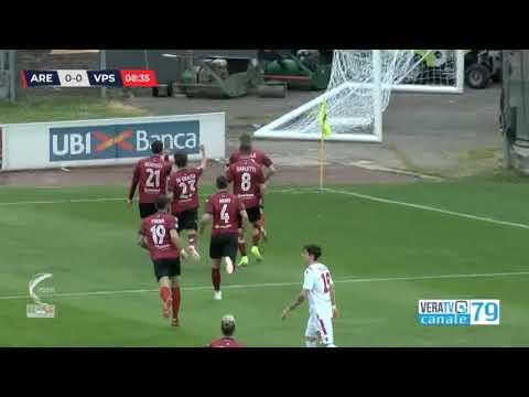 Arezzo-Vis Pesaro 4-2, la sintesi della partita