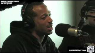 Marlon Wayans gives out his phone number at Big Boy's Neighborhood!