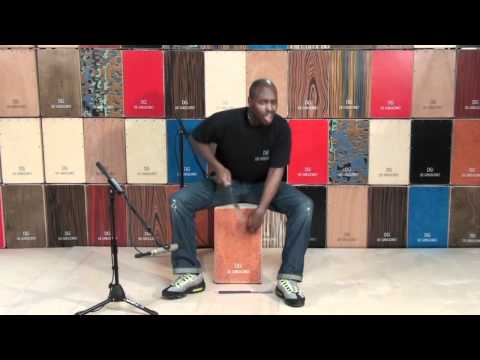 Ulysses Owens Jr : Cajon brush artistry online metal music video by ULYSSES OWENS JR