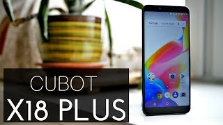 Cubot X18 Plus Review - Surprisingly Good 18:9 Budget Phone!