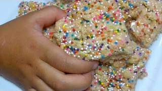 Birthday Cake Mix Rice Krispy Treats Recipe