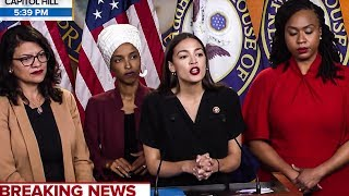 The Squad DISMANTLES Trump During Epic Press Conference