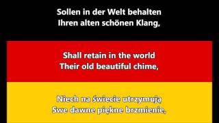 Hymn Niemiec - National Anthem of Germany (DE/EN/PL lyrics)
