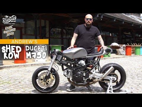 Ducati Monster custom cafe racer - Bike Shed Show 2019