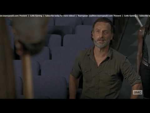 The Walking Dead - Greatest Speech Givin - Rick and King Ezekiel - Story