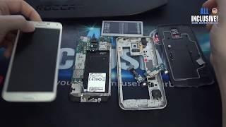 Из рубрики не надо, я сам. :-) Замена дисплея и разъёма USB на телефоне Samsung S5.