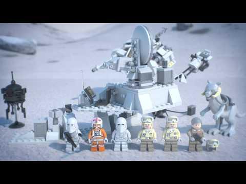 Vidéo LEGO Star Wars 75014 : La bataille de Hoth