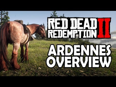 , title : 'Red Dead Redemption 2 Horses - Ardennes Overview