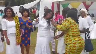 Piesie Esther Sings At Hon. Elizabeth Naa Afoley Quaye's Birthday