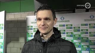 NEC in kwartfinale, kans op burenruzie met Vitesse is 25 procent