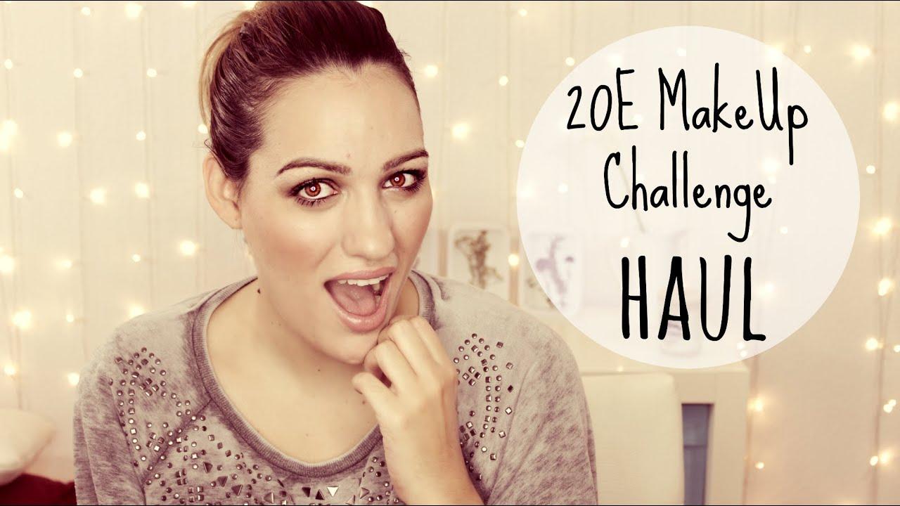 ¡Reto! 20€ Make Up Challenge Haul colaboración con MyCrazyMakeUp