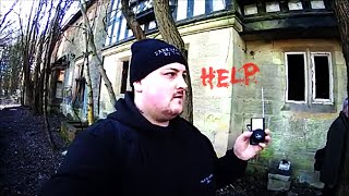 Ghost Box at ABANDONED Mansion DEMON Speaks