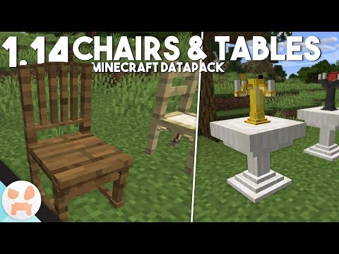 Miraculous Tables And Chairs V3 3 0 1 14 4 Minecraft Data Pack Camellatalisay Diy Chair Ideas Camellatalisaycom