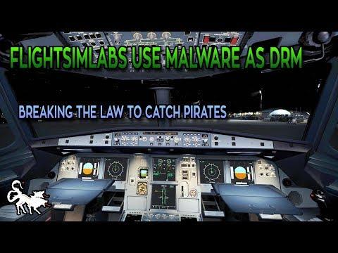 FlightSimLabs were installing malware on are pcs lol