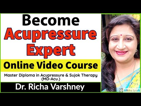 Master Diploma in Acupressure & Sujok Therapy   Online Course in ...