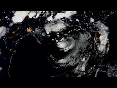 A potential tropical storm brewing in the Gulf of Mexico presents twin troubles for southeast Louisiana - the possibility that a high Mississippi River will approach the tops of levees and a danger of flash floods. (July 11)