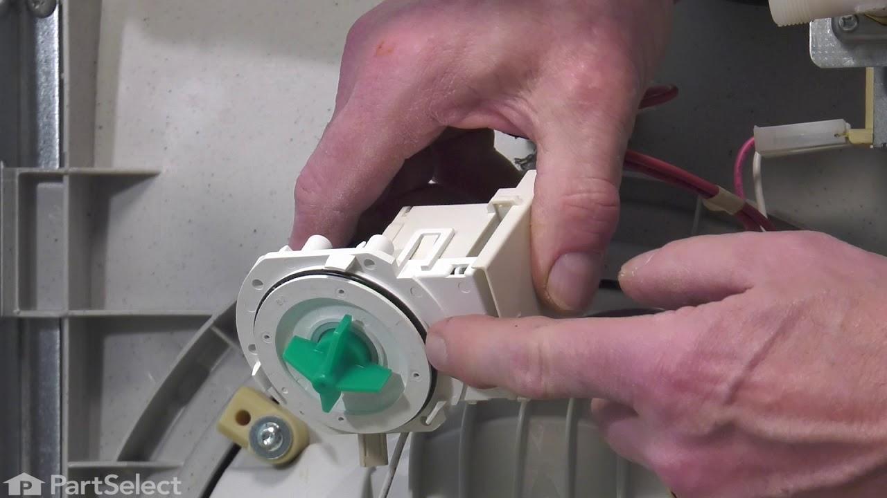 Replacing your Frigidaire Dishwasher Drain Pump -120V 60Hz