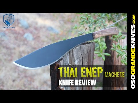 Condor Thai Enep Machete 18 Review | OsoGrandeKnives