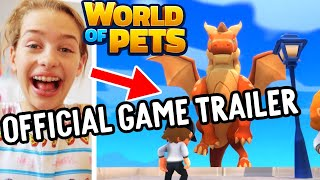 NORRIS NUTS REACT to World Of Pets (Official Game Trailer)