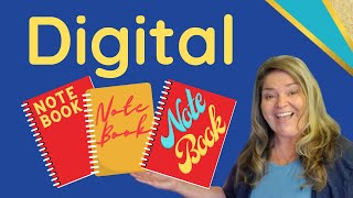 How To Create A Digital Interactive Notebook