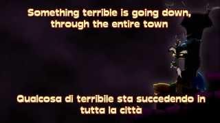 The Living Tombstone (Eurobeat Brony) Discord [ENG+ITA] - LYRICS on SCREEN