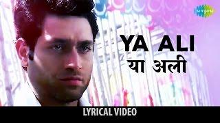 """""""Ya Ali"""" with lyrics   या अली गाने के बोल   Gangster   Emraan Hashmi, Kangana & Shiney Ahuja"""