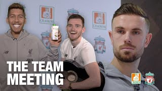 The Team Meeting: 'Let's break the internet' | A Liverpool FC Content Creative session