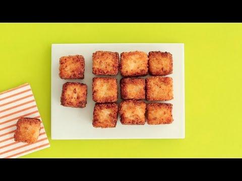 Incredibly Addicting Fried Mac & Cheese Bites