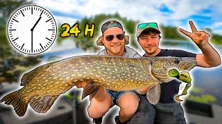 HOW MANY WATERS CAN WE CATCH PIKE IN 24 HOURS? - Next Level | Team Galant