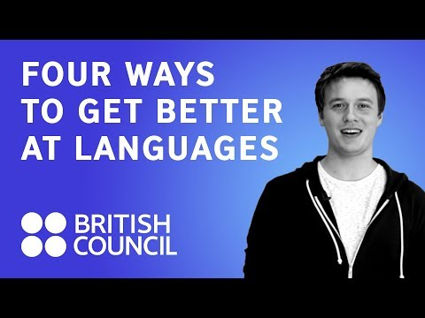 Four ways to get better at languages