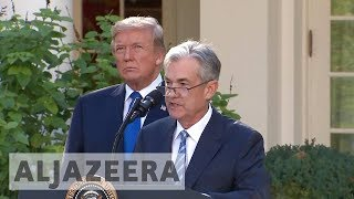 Trump names Jerome Powell to head Federal Reserve