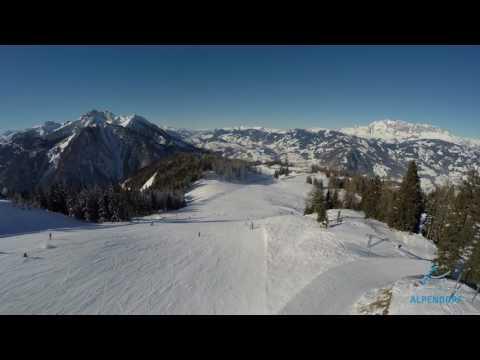 Winteraufnahmen Skigebiet Sankt Johann-Alpendorf