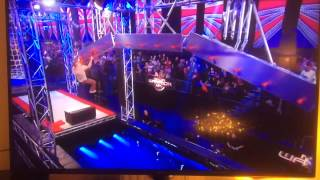 Louis Parkinson on Ninja Warrior UK by Louis Parkinson
