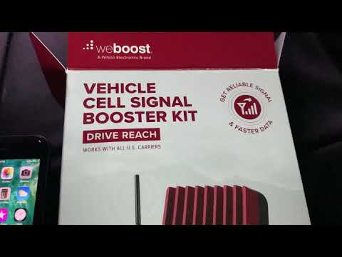 Weboost cell phone booster review link below download