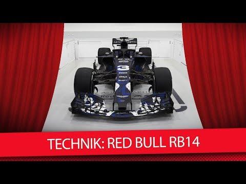 Formel 1 Autos 2018: Der neue Red Bull RB14 (Technik-Check)