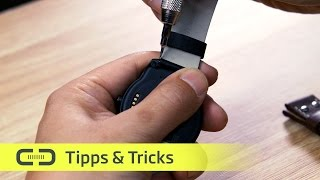 DIY Smartwatch Armband wechseln