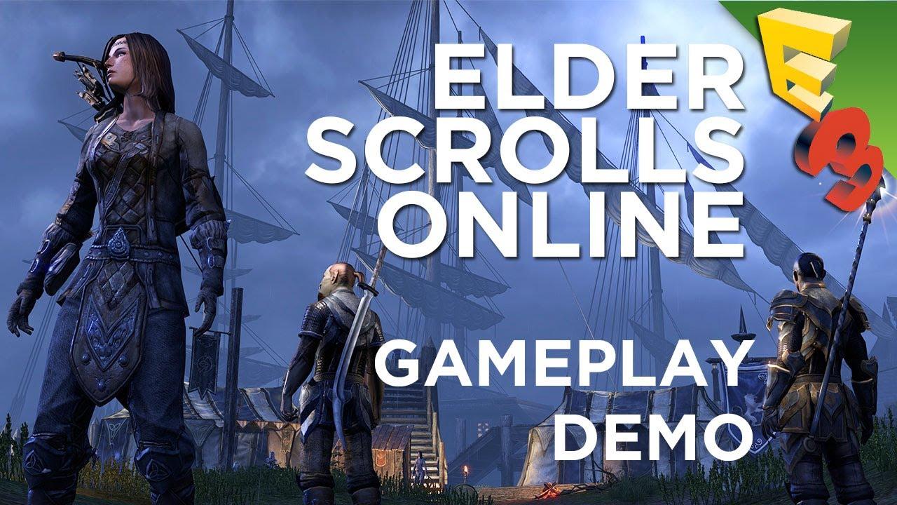 Elder Scrolls Online: видео - ESO New Gameplay Walkthrough with Adam Sessler! [Revision3]