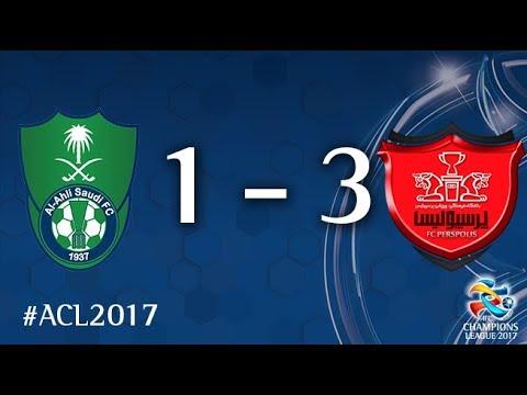 Al Ahli vs Persepolis (AFC Champions League 2017: Quarter Final - 2nd Leg)