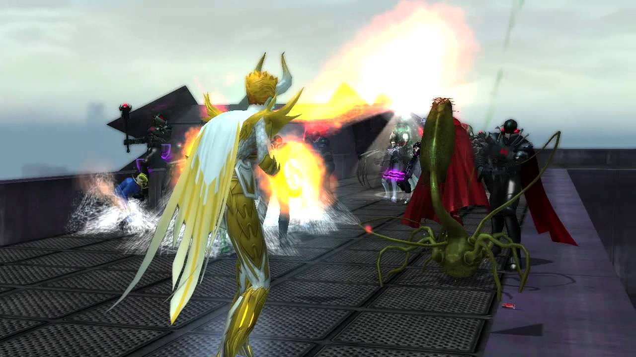 City Of Heroes Now Free-to-Play