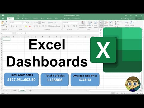 Beginner's Guide to Excel Dashboards - YouTube