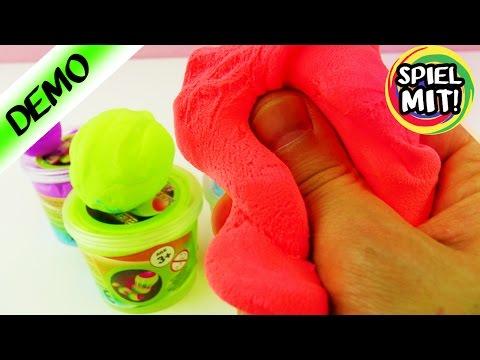 FLUMMI SELBER MACHEN MIT KNETE! Flummi Knete Deutsch Hüpfknete - Spiel mit mir Kinderspielzeuge