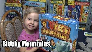 Blocky Mountains (Noris) - ab 5 Jahre ..... ein Kinderspiel mit viel Geschicklichkeit!