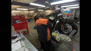 Richardson's H-D FLSL Slim Custom Bike